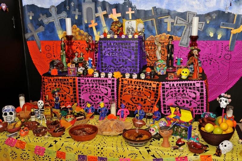 Dia De Los Muertos Mexican Food